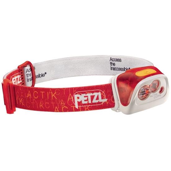 Petzl Actik Core 350 lm - Rojo