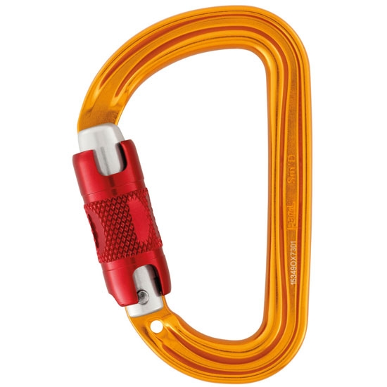 Petzl Sm'D Twist-Lock - Amarillo