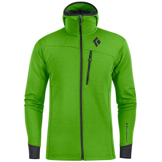 Black Diamond Coefficient Hoody - Vibrant Green