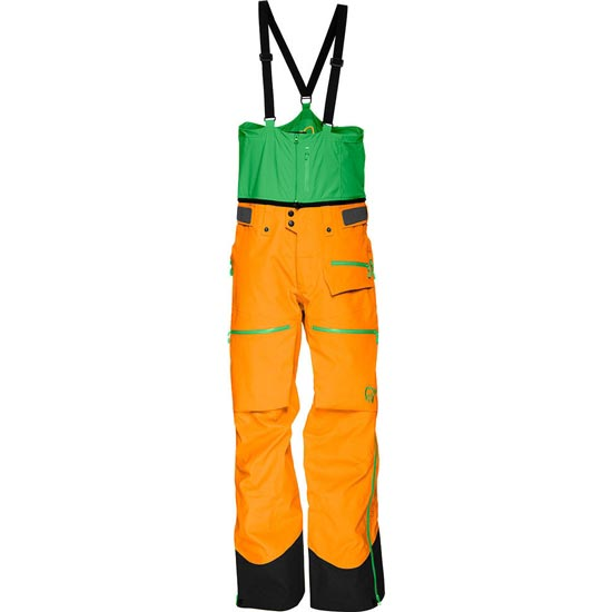 Norrona Lofoten Gore-Tex Pro Pants - Orange Crush