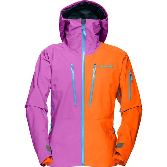 Norrona Lofoten Gore-Tex Pro Jacket W - Magma/Pumped Purple