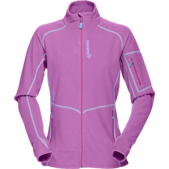 Norrona Lofoten Warm1 Jacket W - Pumped Purple