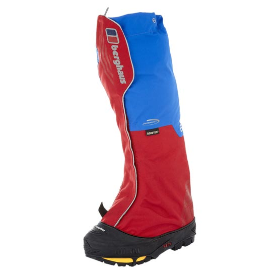 Berghaus Yeti Insulated III Gaiter - Blue/Red