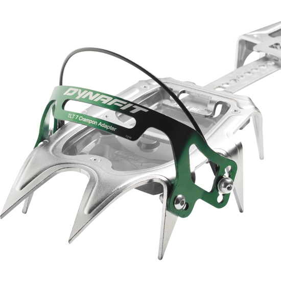 Dynafit TLT 7 Crampon Adapter - Grey/Green