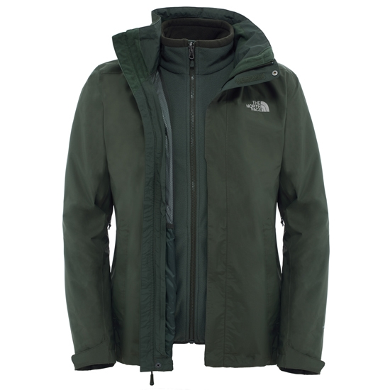 The North Face Evolution II Triclimate Jacket - Rosin Green