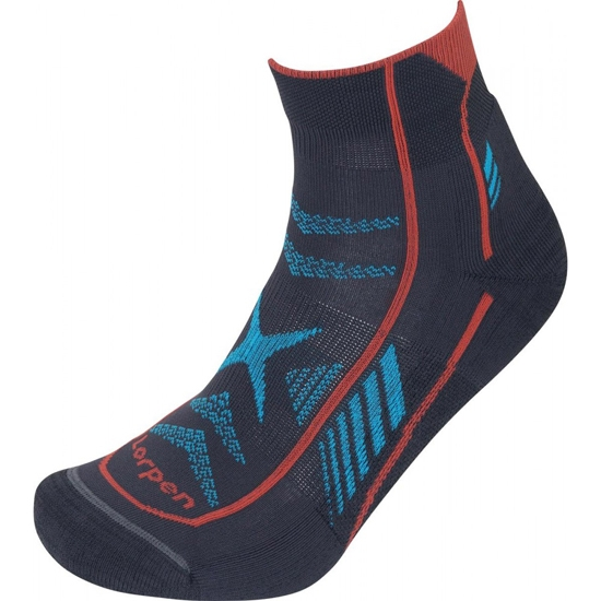 Lorpen T3 Padded Ultra Trail Running - Blue