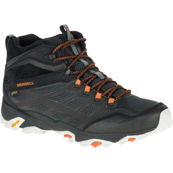 Merrell Moab FST Mid GTX - Black/Orange