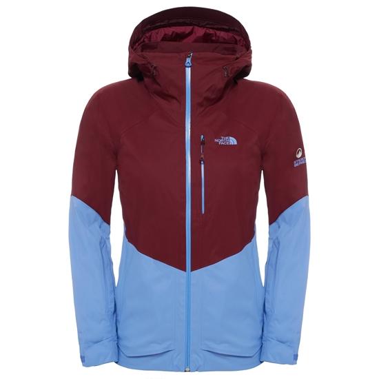The North Face Sickline Insulated Jacket W - Deep Garnet Red/ Stellar Blue