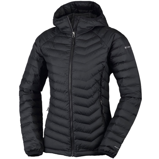 Columbia Powder Lite Hooded W - Black