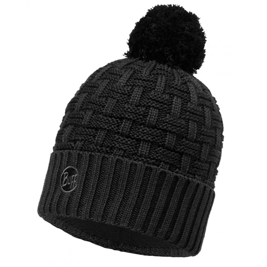 Buff Knitted & Polar Hat Buff - Airon Black