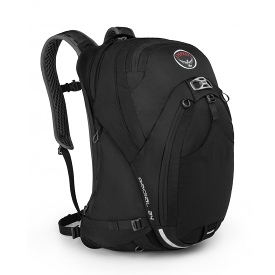 Osprey Radial 34 - Black