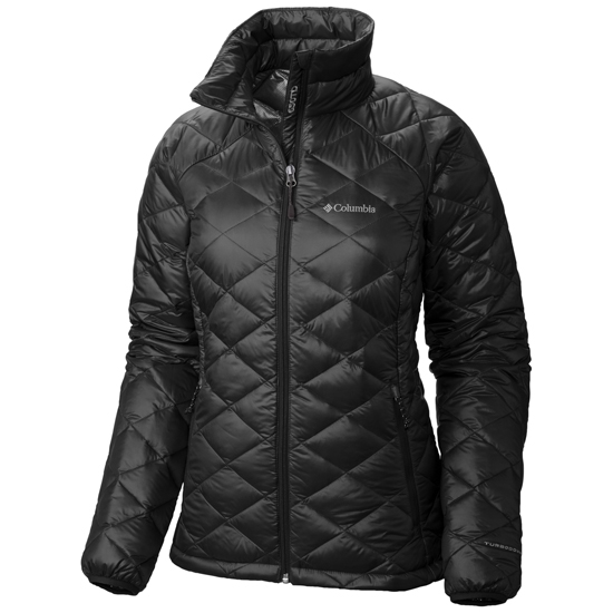 Columbia Trask Mountain 650 TurboDown Jacket W - Black