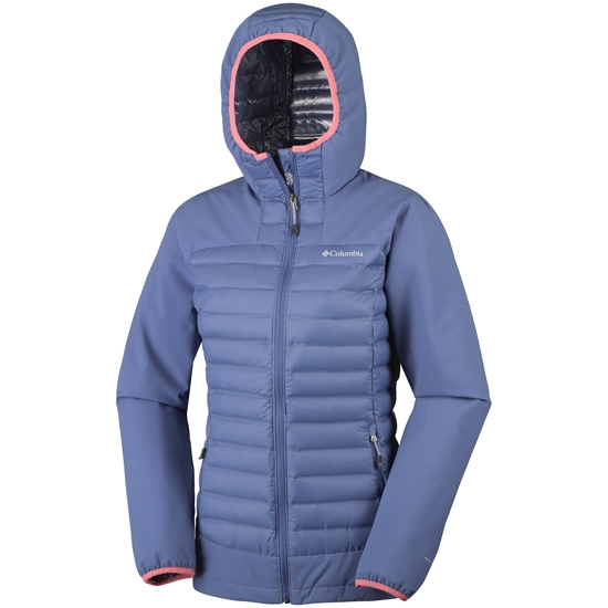 Columbia Dutch Hollow Hybrid Jacket W - Detail Foto