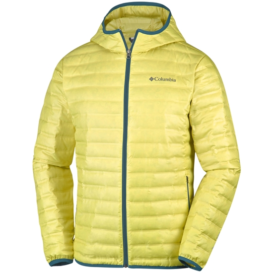 Columbia Flash Forward Down Hooded - Mineral Yellow