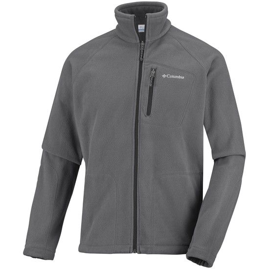 Columbia Fast Trek II Full Zip Fleece - Grill