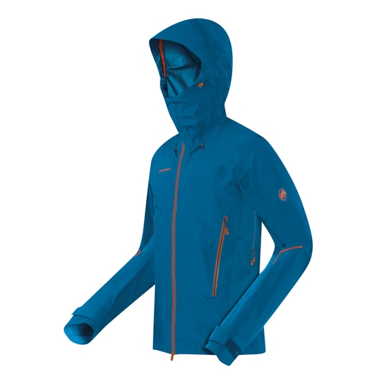 Mammut Nordwand Pro HS Hooded Jacket - Cyan/Dark Cyan