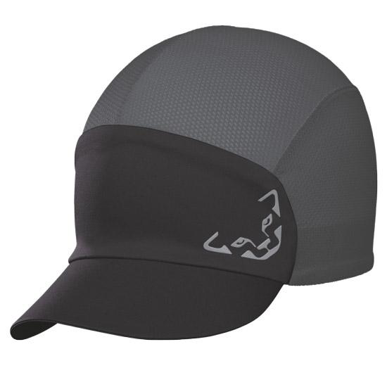 Dynafit React Visor Cap - Black/Asphalt