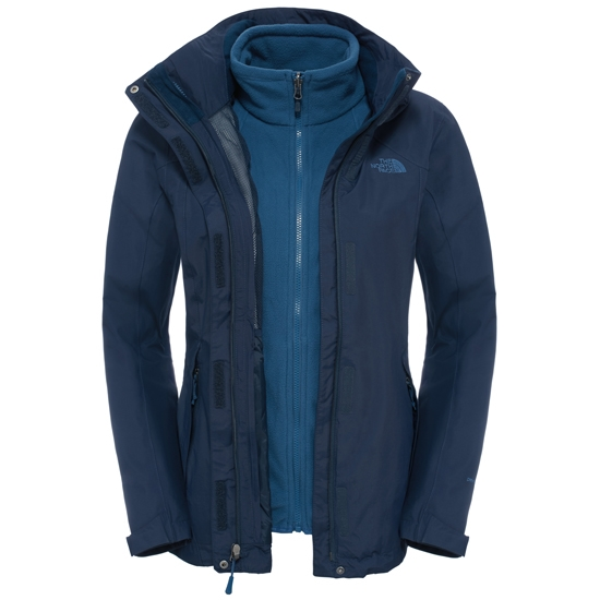 The North Face Evolution II Triclimate Jacket W - Urban Navy
