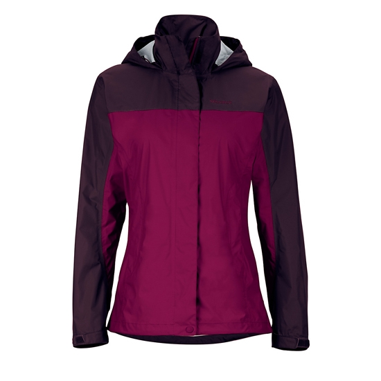 Marmot Precip Jacket W - Magenta/Dark Purple