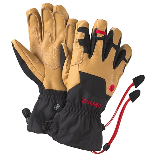 Marmot Exum Guide Glove - Black/Tan