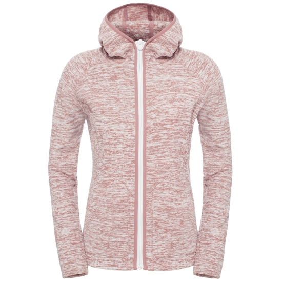 The North Face Nikster Full Zip Hoodie W - Glaciar Coral