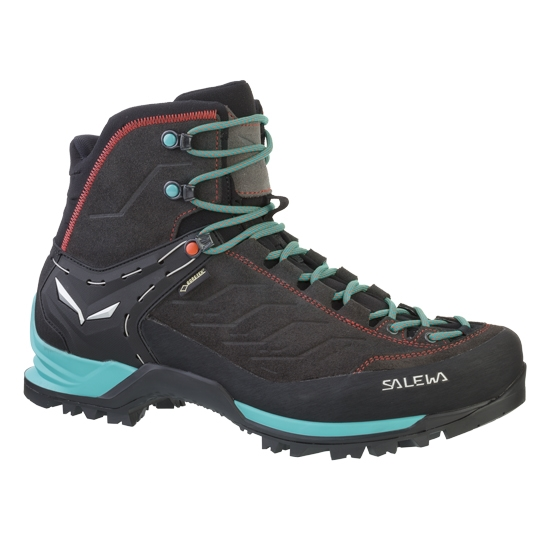 Salewa Mountain Trainer Mid GTX W - Magnet/Viridian Green