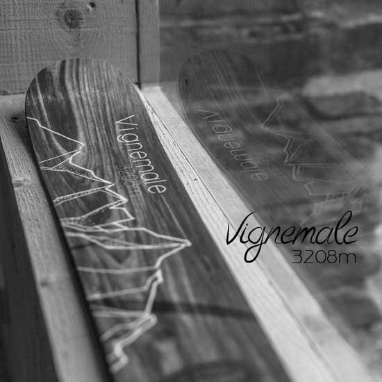 Desman Pyrenean Skis Vignemale - Photo de détail