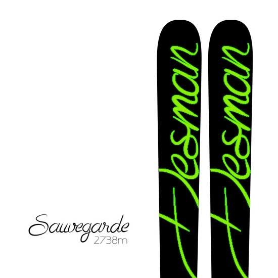 Desman Pyrenean Skis Sauvegarde - Photo de détail