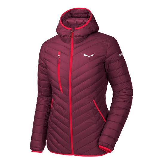 Salewa Ortles Light Down Hoody Jacket W - Tawny Port