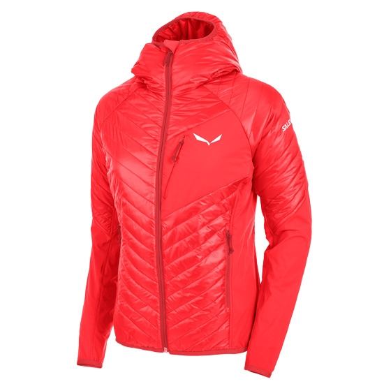Salewa Ortles Hybrid 2 Jacket W - Hot Red