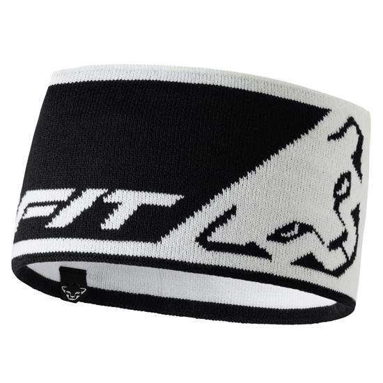 Dynafit Leopard Logo Headband - White