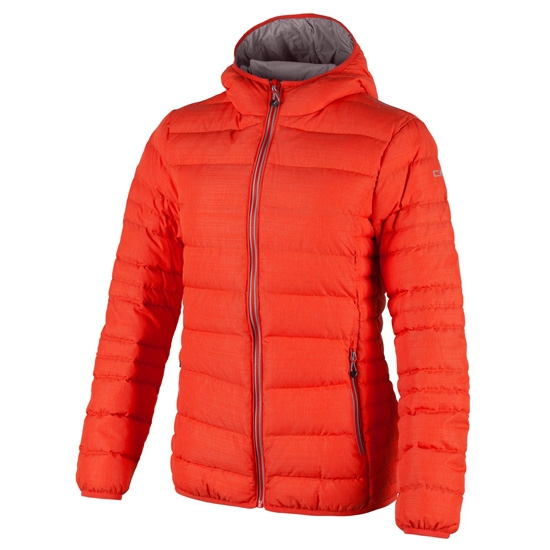 Campagnolo Fix Hood Down Jacket Girl - Orange Melange