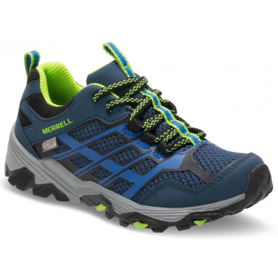 Merrell Moab FST Low Waterproof - Navy/Blue