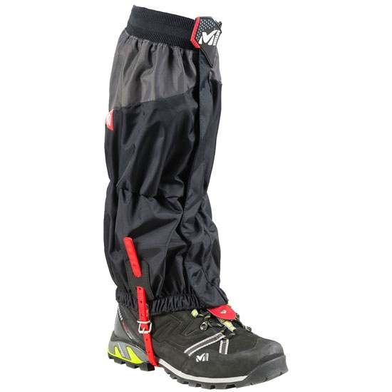 Millet High Route Gaiters - Black/Red