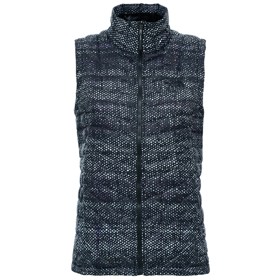The North Face Thermoball Vest W - TNF Black Donegal Print