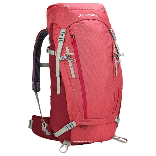 Vaude Asymmetric 38+8 W - Indian Red
