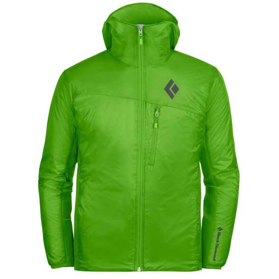 Black Diamond Access LT Hybrid Hoody - Vibrant Green