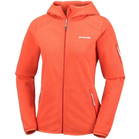 Columbia Outdoor Novelty Hooded W - Sail Red/Hot Pepper