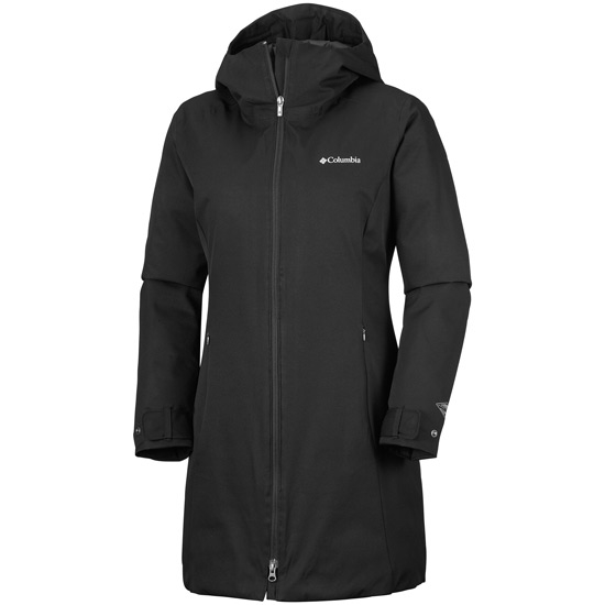 Columbia Autumn Rise Mid Jacket W - Black