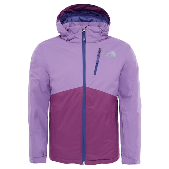 The North Face Snowquest Plus Jacket Youth - Bellflower Purple