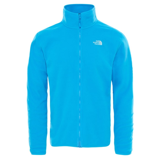 The North Face 100 Glacier Full Zip - Blue Aster