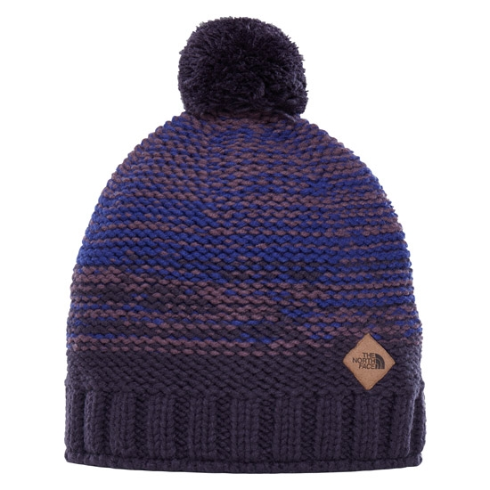 The North Face Antlers Monument Beanie - Monument Grey/Conquer Blue/Urban Navy