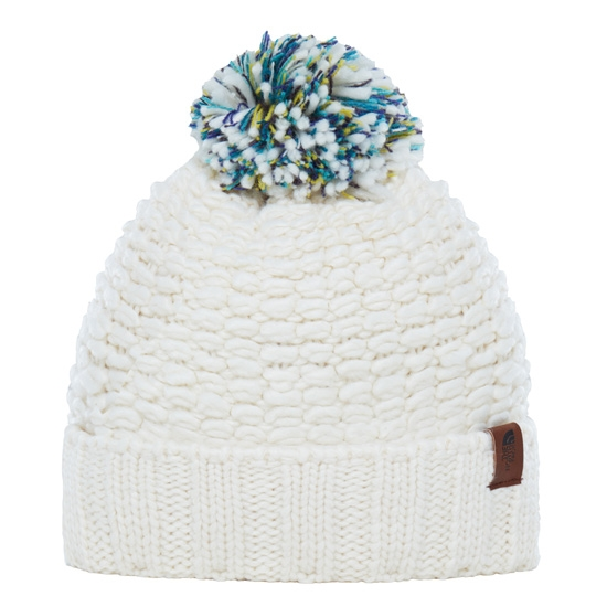 The North Face Cozy Chunky Beanie - Vintage White