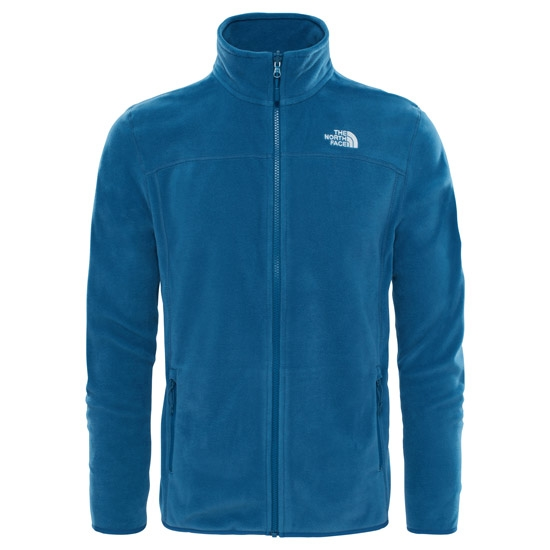 The North Face 100 Glacier Full Zip - Monterey Blue