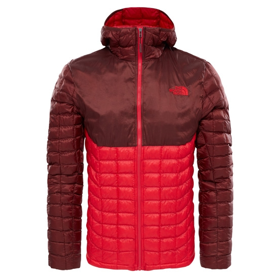 The North Face Thermoball Hoodie Jacket - TNF Red/Sequoia Red