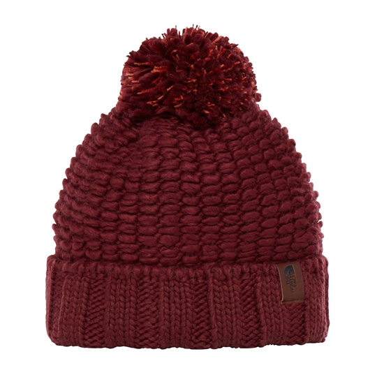 The North Face Cozy Chunky Beanie - Barolo Red