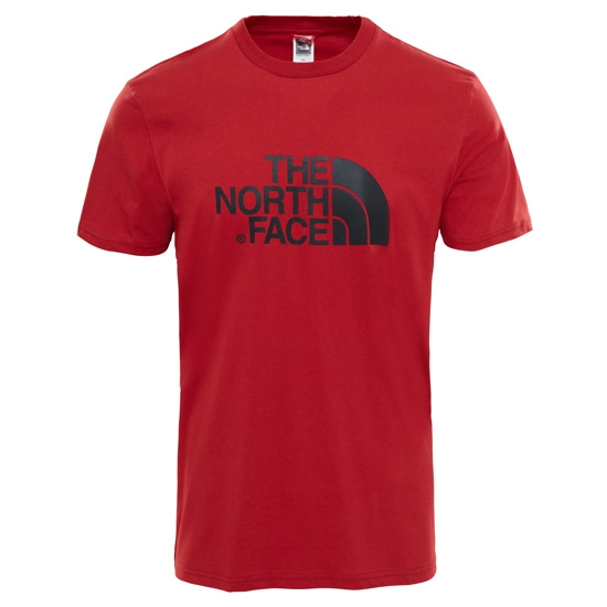 The North Face S/S Easy Tee - Cardinal Red
