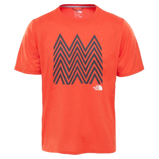 The North Face Reaxion Amp Crew - Acrylic Orange Heather