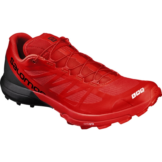 Salomon S-lab S-Lab Sense 6 SG - Racing Red/Black/White