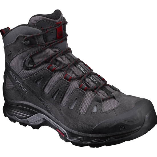 Salomon Quest Prime GTX - Magnet/Black/Red Dalhia